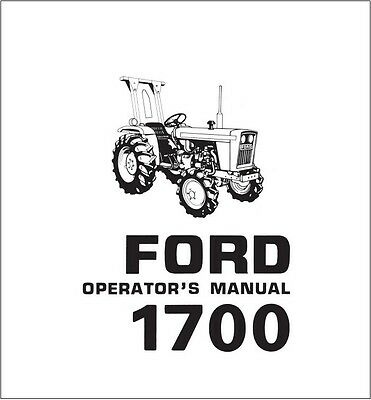 Ford 1700 Tractor Operators Manual (0056)