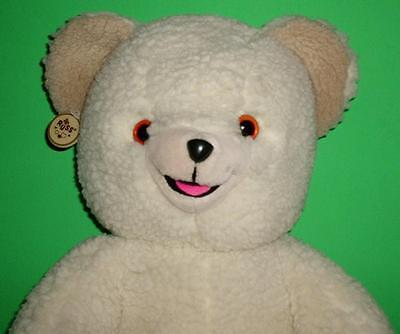 """Commercials Fabric Softener Lever Bros Vintage Snuggle Bear Russ Berrie 1986 22"""""""
