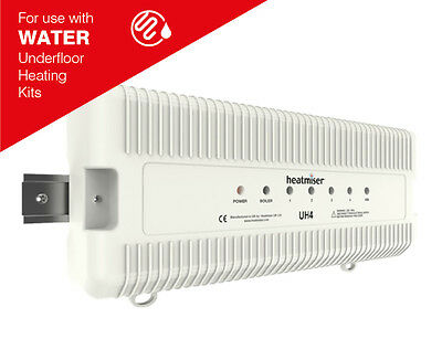 Heatmiser UH4 - 4 Zone 230v Wiring Centre