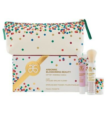 NEW! Arbonne Blossoming Beauty Gift Set (Holiday)