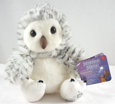 Russ Berrie Snowy Owl Plush Shining Stars With Tag 34441