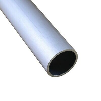 Select OD 16mm - 24mm 6061 Aluminum Round Tubing Length 100mm - 600mm