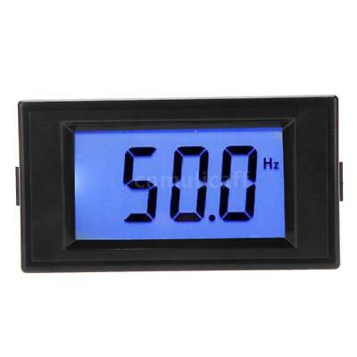 80-300V AC LCD Digital Frequency Panel Meter Gauge Cymometer 10-199.9Hz D5R2