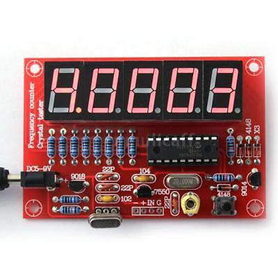 Crystal Oscillator Frequency Counter Meter 1-50MHz Digital LED PIC DIY Kits E7V9
