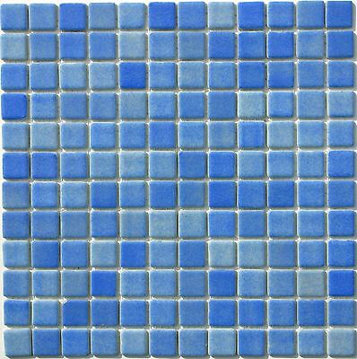 4 Colours Recycled Glass Foggy Effect Mosaic Tile Sheets