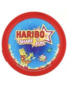 Haribo Share The Fun Tub 700g, Ideal For Christmas Gift, Halloween Treats