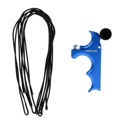 1 Piece Archery Release Aid Handle Grip + D Loop Rope Material 10m