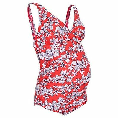 Ladies Target maternity floral or striped one piece swimsuit  Size 12,14,16