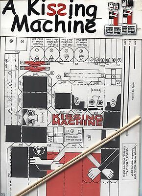 A Kissing Machine - Paper Toy / Optical Toys