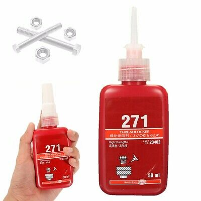 271 50ml Low Viscosity High Strength Thread Locker Threadlocking Adhesive Glues