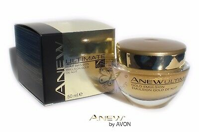 AVON Anew Gel Crema Emulsion de Oro Noche 7S 50ml