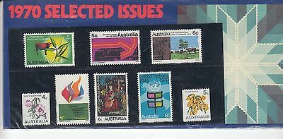 Australia 1970 Selected Issues pack x 14