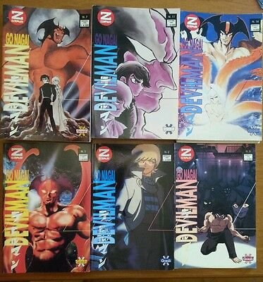 Granata Press Z Star Devilman Di Go Nagai Serie Completa In 14Vol. Del 1991