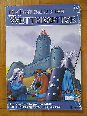 DIE FESTUNG AUF DER WETTERSPITZE Neu / Sealed MERS Middle-Earth Role Payling DEU