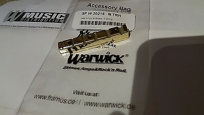 New Warwick Brass Just A Nut III 6 String Bass 52.0MM, Right Handed
