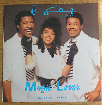 """The Cool Notes, Magic Lover 12"""", Risin Records"""