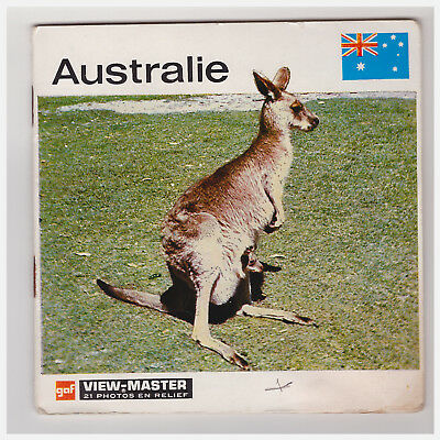 View Master  Australie   B 299    A Libretto   In Francese