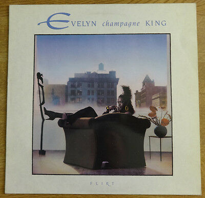 Evelyn Champagne King, Flirt LP, EMI-Manhattan Records
