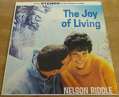NELSON RIDDLE, The Joy Of Living LP, Capitol Records