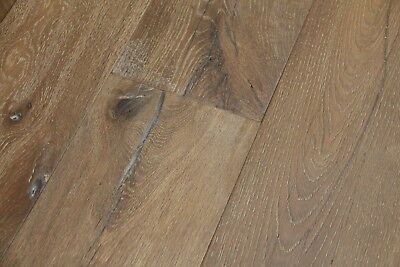 Engineered Oak Brushed Distressed White 20mm x 6mm x 190mm