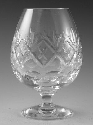 "Royal DOULTON Crystal - GEORGIAN Cut - Brandy Glass / Glasses - 4 7/8"" (2nd)"