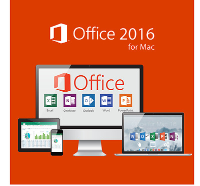 Microsoft Office 2016 For Mac - 3 Mac Users - Special Offers