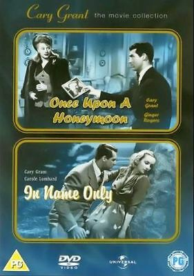 ONCE UPON A HONEYMOON/IN NAME ONLY Cary Grant * NEW & SEALED * Region 2 UK DVD