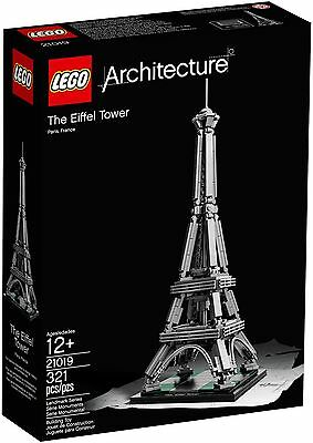 LEGO Architecture 21019 The Eiffel Tower - Brand New In Box!! Free Shipping
