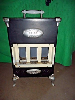 Antique Germer Stove Co.radiant Home No.35 Solar Stove Heater,pre 1914