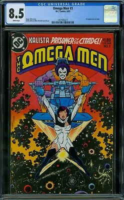 Omega Men 3 CGC 8.5 - White Pages