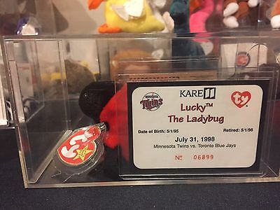 Rare Ty Baseball Giveaway Lucky The Ladybug Twins Vs Blue Jays Limited Edition!