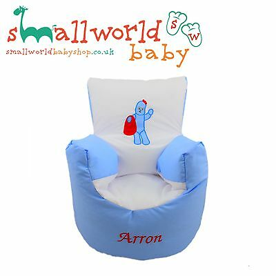 Personalised In The Night Garden Iggle Piggle Bean Bag Chair (NEXT DAY DISPATCH)