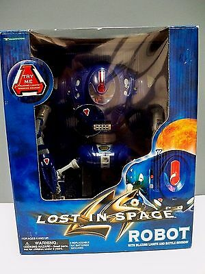 LOST IN SPACE ROBOT W/ LIGHTS, SOUND & MORE FEATURES by TRENDMASTERS 1997 - MIB