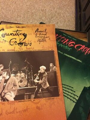 Counting Crows Songbooks Two in Lot Good Condition