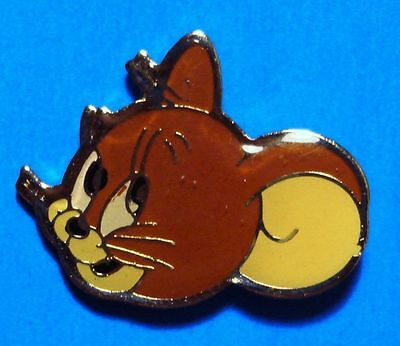 Tom & Jerry - Cat And Mouse Cartoon - Vintage 1991 Turner Ent. Lapel Pin - # B