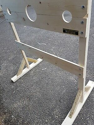 Medieval Wooden Stocks Made To Order, Un-Stained New!!!