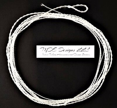 Fluorocarbon Tapered Furled Leader 84 Inch 7-9 WT Lines - Tippet Ring -  Clear