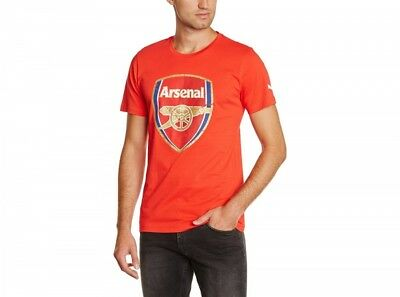 Puma Arsenal FC Official Football Gift Mens Graphic T-Shirt Official 746480