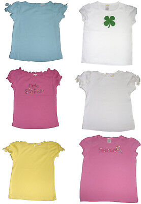 Girls Tops New Gymboree Brand Assorted Cotton Cap Sleeve Tops.Ages:12mths -5yrs