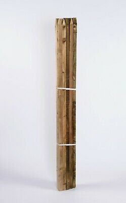 1.5m x 32mm Square Pointed Wooden Tree Stakes Fence Posts Wood
