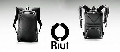 "Secure Smart Bag RiutBag R15 15"" Laptop Backpack Anti-Theft Waterproof 2017"