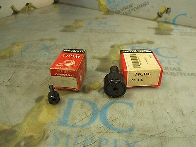 Mcgill Cf½ & Cf1S Cam Follower Bearings Lot Of 2 Nib