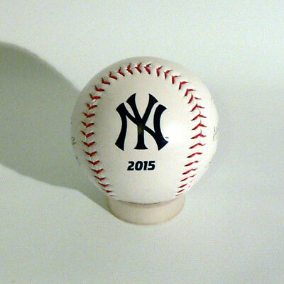 New York Yankees Baseball - Team signiert 2015 - MLB Baseball - Rawlings - Neu