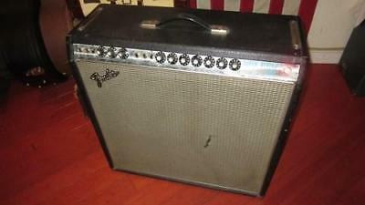 Vintage 1968 Fender Super Reverb Combo Amplifier Is Clean And All Original