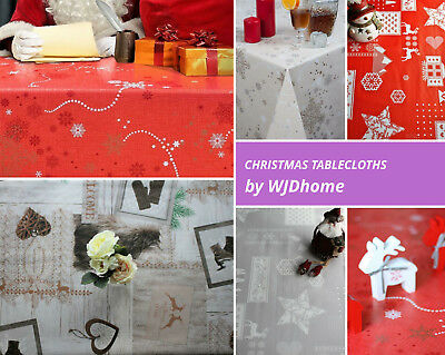 SALE!Christmas,Premium Design by WJDhome,Wipe clean TableclothOilcloth.