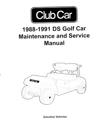 CLUB CAR GOLF cart Service Repair manual 1984 - 2011 gas & electric Kawasaki Golf Cart Engine Manual Html on golf cart brands, golf cart gas motors, golf cart chassis, club car golf cart manual,