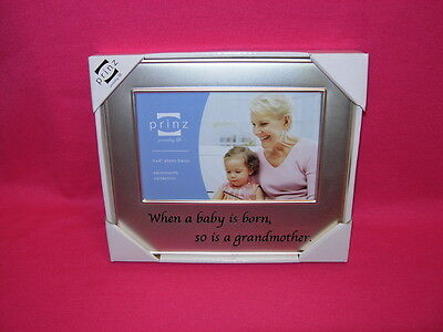 Prinz Photo Frame Family Ties WHEN A BABY IS BORN, SO IS A GRANDMOTHER