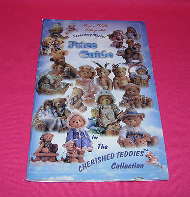 Rosie Wells Secondary Market PRICE GUIDE for Cherished Teddies Collection 1996