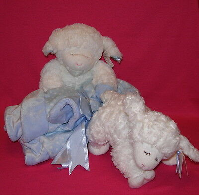 Gund Bundle Lot of 2 Baby Gund1 WINKY Blanket Set and 1 RATTLE  Selling AS IS