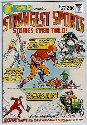 Dc Special # 7 Vf+ 8.5 68 Pages; Strangest Sports